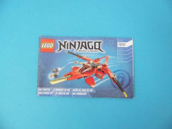 Notice Lego - Ninjago - N°70721