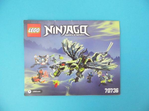 Notice Lego - Ninjago - N°70736
