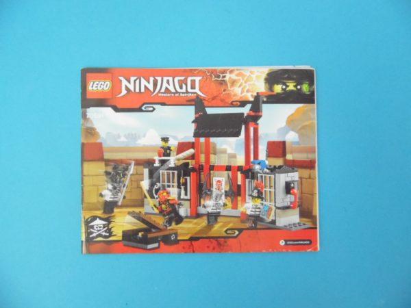 Notice Lego - Ninjago - N°70591