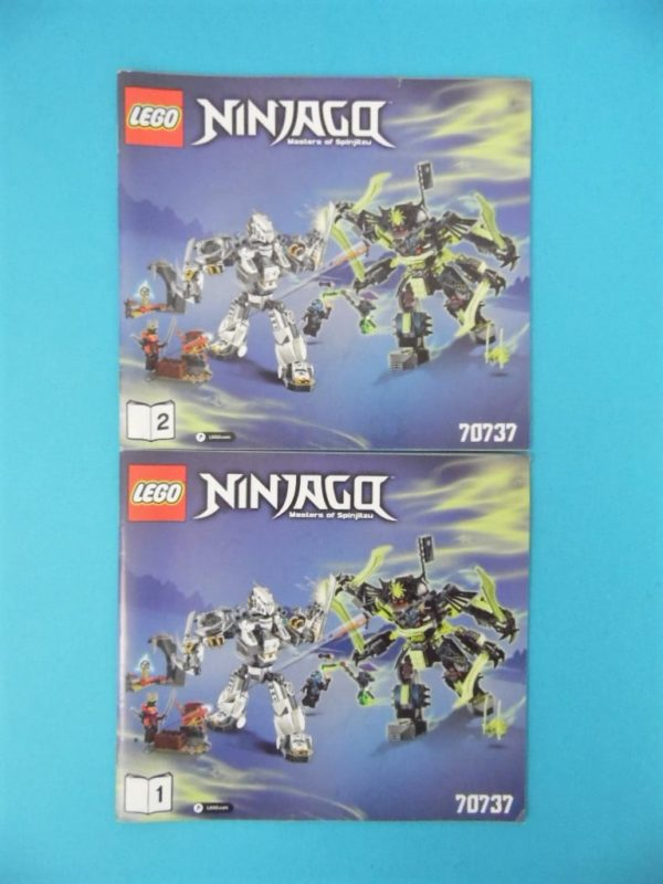 Notice Lego - Ninjago - N°70737