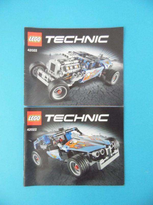 Notice Lego - Technic - N°42022