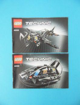 Notice Lego - Technic - N°42002