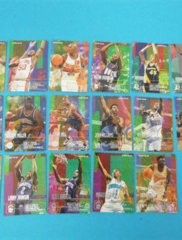 Cartes de 17 joueurs NBA - FLEER - 95/96