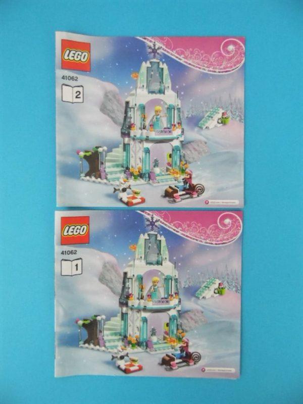 Notice Lego - La reine des neiges - N° 41062