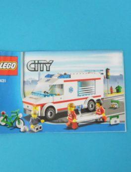 Notice Lego - City - N°4431