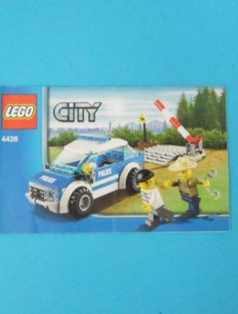 Notice Lego - City - N°4436