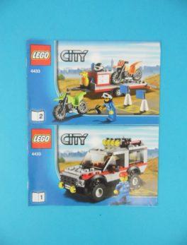 Notice Lego - City - N°4433