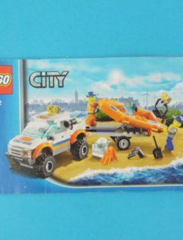 Notice Lego - City - N°60012
