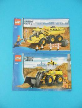 Notice Lego - City - N°7630 + N°7631
