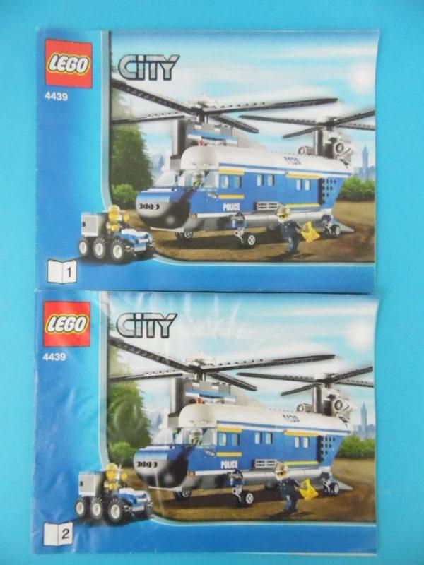 Notice Lego - City - N°4439