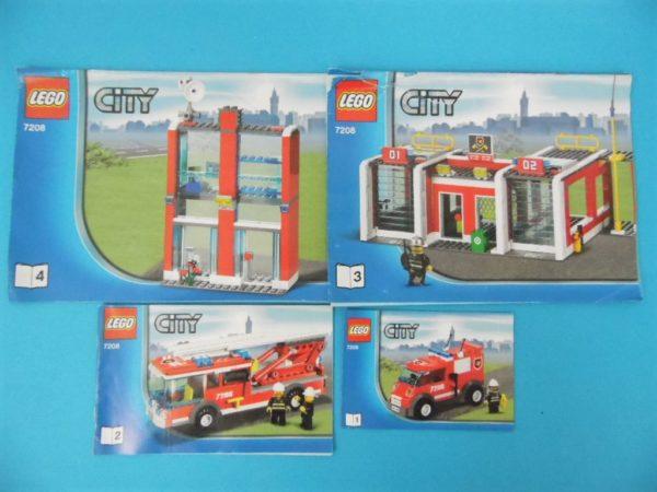 Notice Lego - City - N°7208