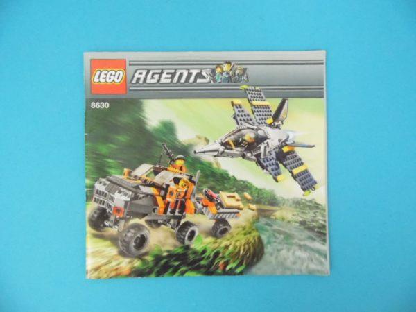 Notice Lego - Agents - N°8630