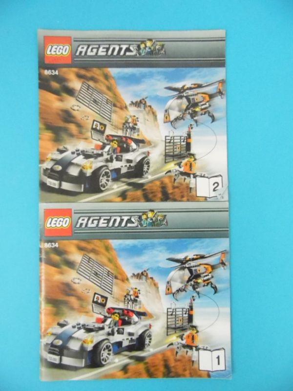 Notice Lego - Agents - N°8634