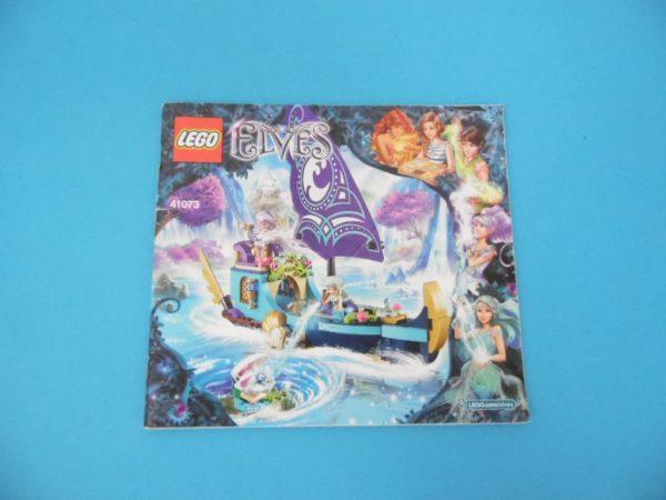 Notice Lego - Elves- N° 41073