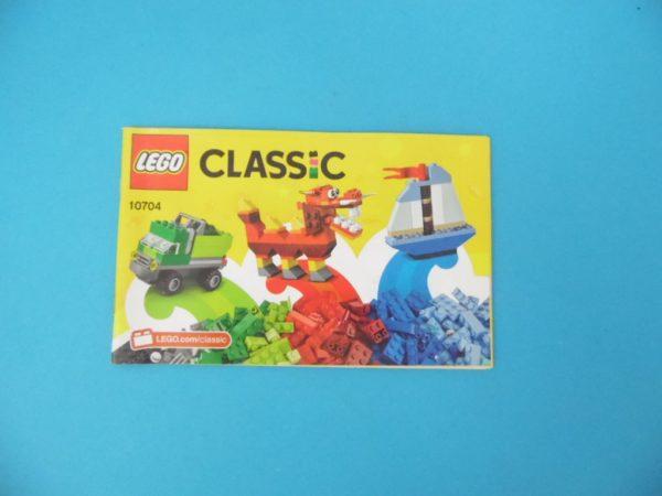 Notice Lego - Classic - N° 10704
