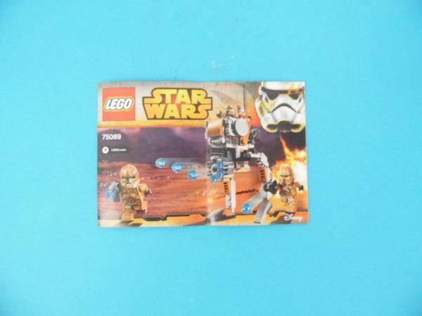 Notice Lego - Star Wars - N°75089