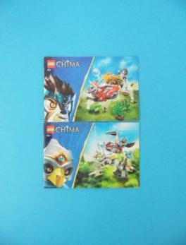 Notice Lego - Chima - N°70113 + N°70114