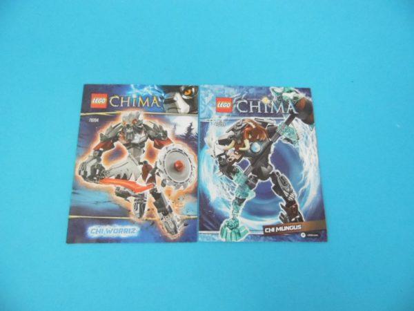 Notice Lego - Chima - N°70204 + N°70209
