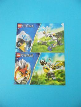 Notice Lego - Chima - N°70101 + N°70107 + N°70108