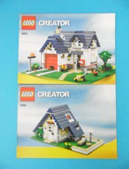 Notice Lego - Creator - N°5891