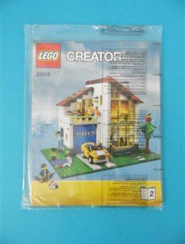 Notice Lego - Creator - N°31012