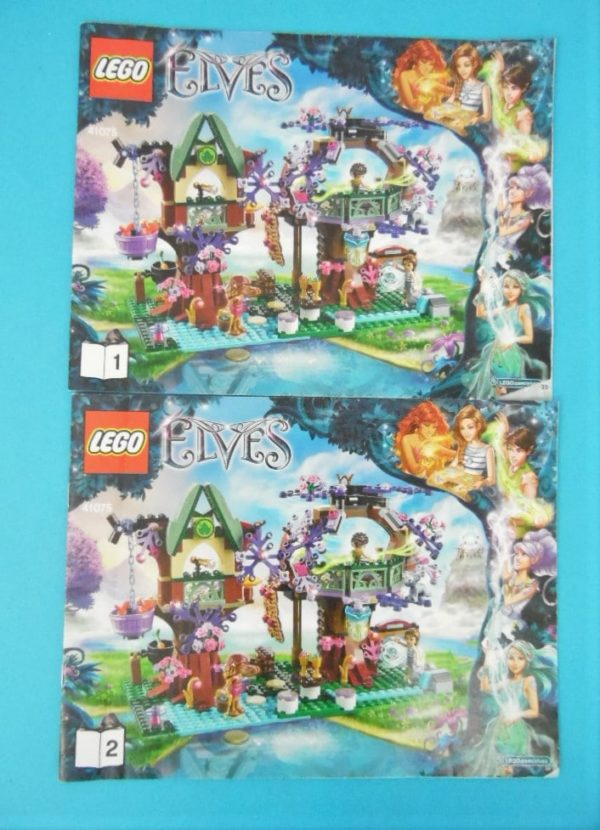 Notice Lego - Elves- N° 41075