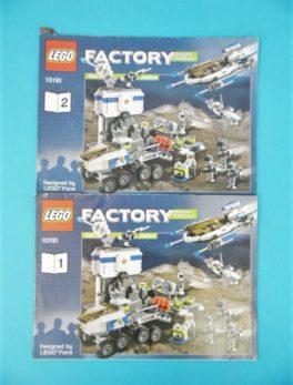 Notice Lego - Factory - N°10191