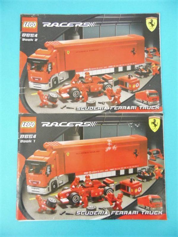 Notice Lego - Racers - N°8654