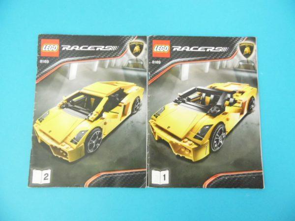 Notice Lego - Racers - N°8169