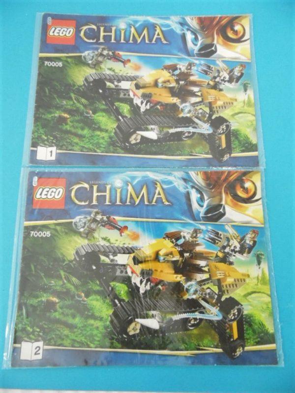 Notice Lego - Chima - N°70005