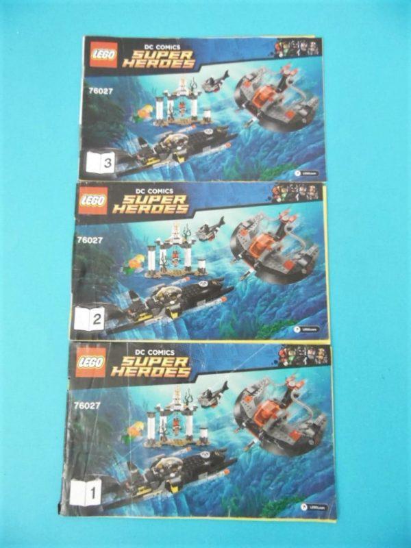 Notice Lego - Super heroes - N°76027